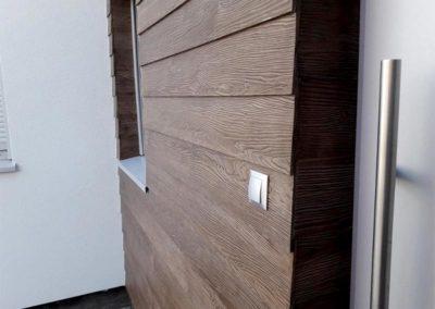 Deska elewacyjna włóknocementowa  Shera Plank zamiennik deski Cedral