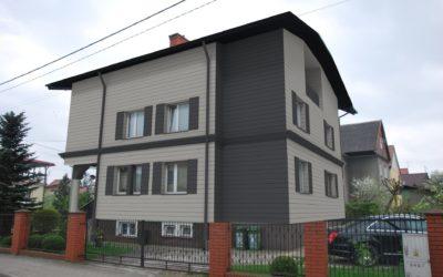 CEDRAL – Deski elewacyjne z włóknocementu -projekt rewitalizacji domu jednorodzinnego