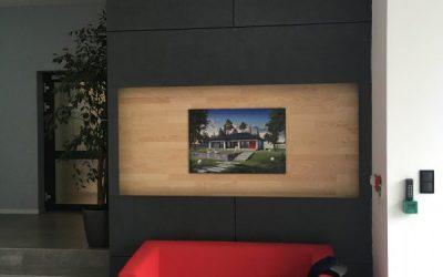 Okładzina wewnętrzna z płyt włoknocementowych Patina Cembrit