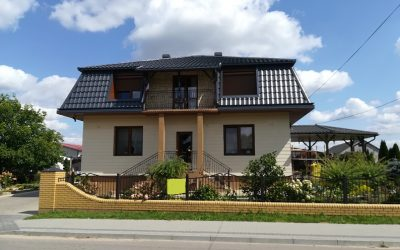 CEDAR- deska elewacyjna włóknocementowa –  rewitalizacja domu