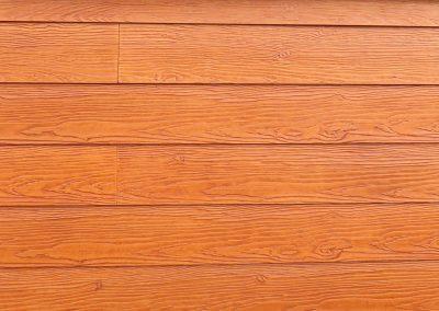 Deska Shera Golden Sand teak - elewacja