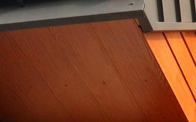Deski włóknocementowe Shera w kolorze Golden Sand Teak – inwestycja  w Białymstoku