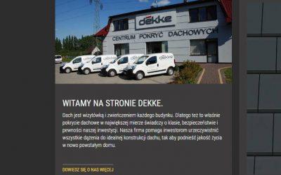 Dekke Kraków – oficjalny punkt dystrybucji desek włóknocementowych SHERA