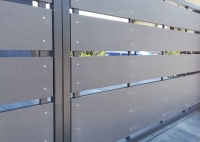 Cembrit Patina płyta włóknocemntowa - ogrodzenie z włoknocementu