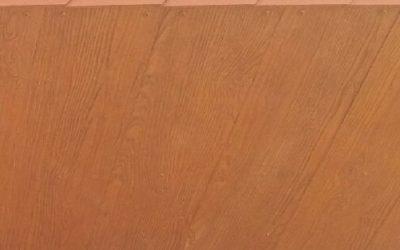 SHERA deska elewacyjna Golden Sand Teak na podbitce