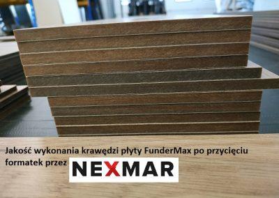 Nexmar Cięcie i formatyzacja płyt