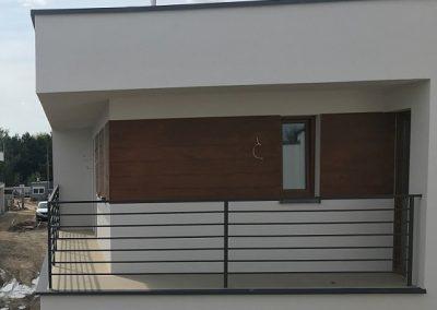 Elewacja włóknocementowa Deska Shera zamiast szalówki Nexmar deski