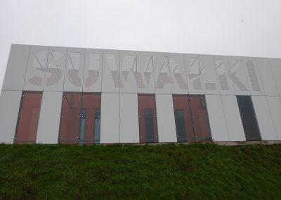 Arena Suwałki - Elewacja z Płyt Cembrit