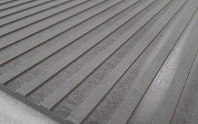 Nexmar Elewacje Włóknocementowe – Płyta Cembrit Patina P 050 – 3D Panel Płyta Frezowana